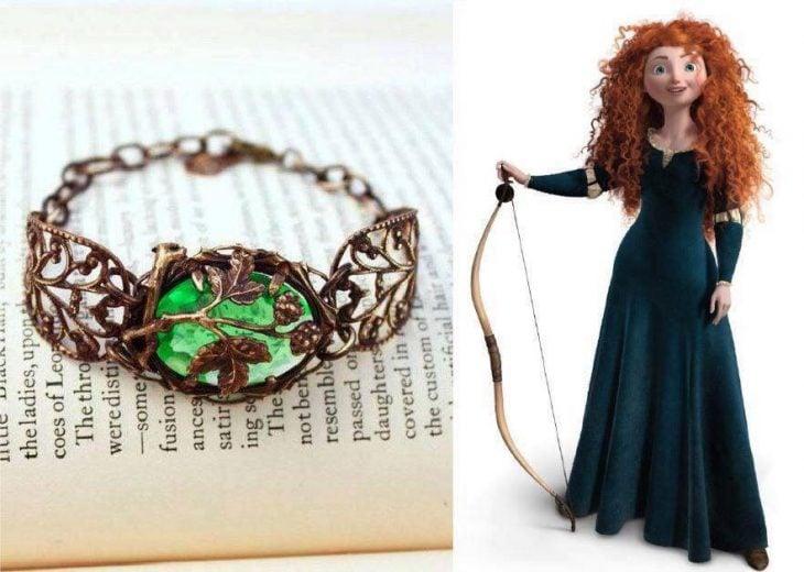 anillo para dama verde