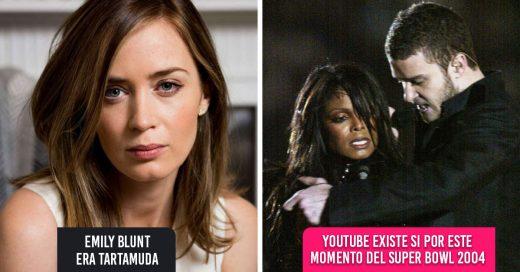 15 Datos de tus celebridades favoritas que cambiarán tu forma de ver a Hollywood