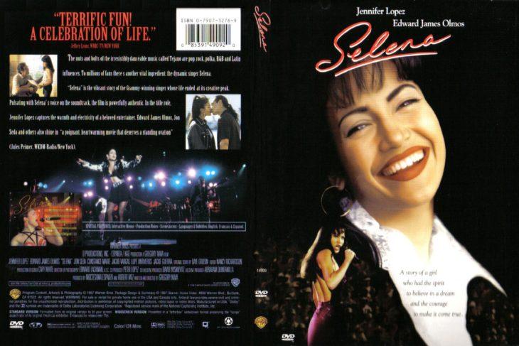portada de película Selena