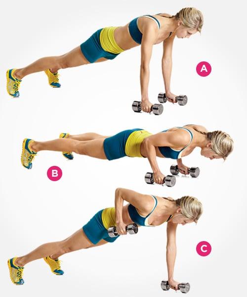 10 Sencillos ejercicios para deshacerse de la espalda ancha