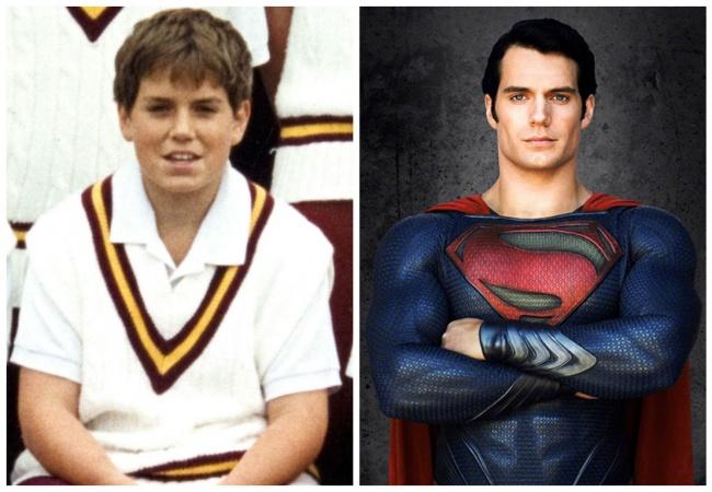 Chico vestido de Superman