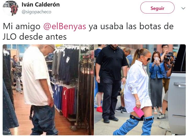Memes que desataron las botas de Jennifer Lopez