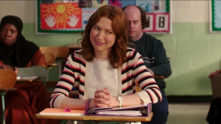 Kimmy Schmidt en la escuela
