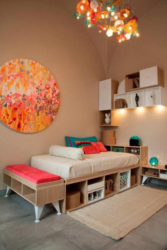 15 lindas ideas para decorar tu nuevo departamento - Decoracion habitacion joven ...