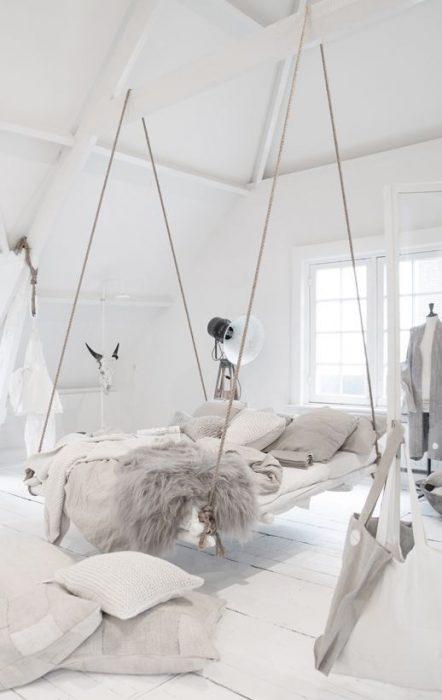 cama flotante