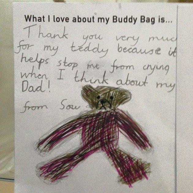 carta de un niño