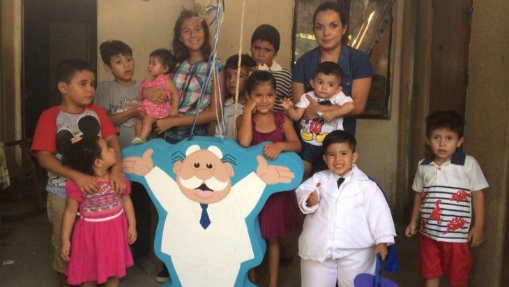 Fiesta del Dr. Simi celebrada por un niño de 3 años