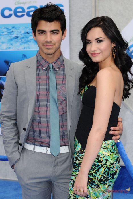 Demi Lovato y Joe Jonas