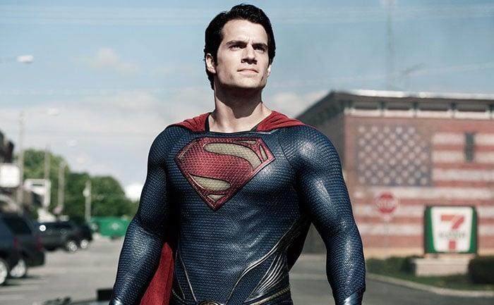 Escena de la película superman