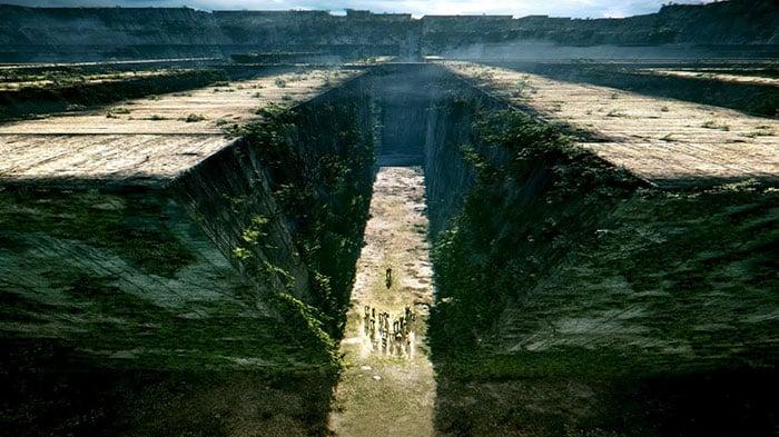 Escena de la película maze runer