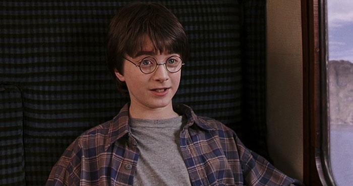 Escena de la película harry Potter