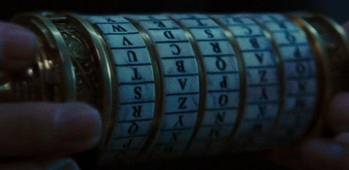 Escena de la película El código Da Vinci
