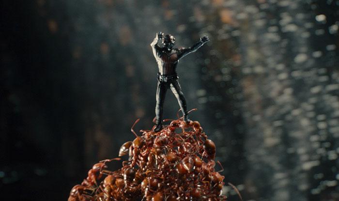 Escena de la película ant Man