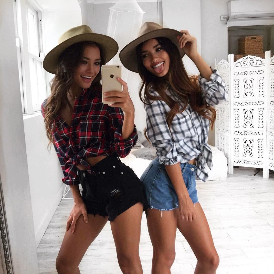 24 Geniales Outfits Que Debes Probarte Con Tu Mejor Amiga