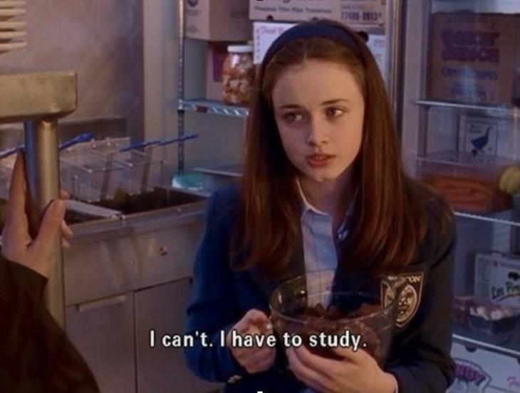 No puedo, debo estudiar