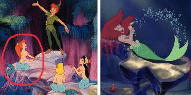 Escena de Peter Pan