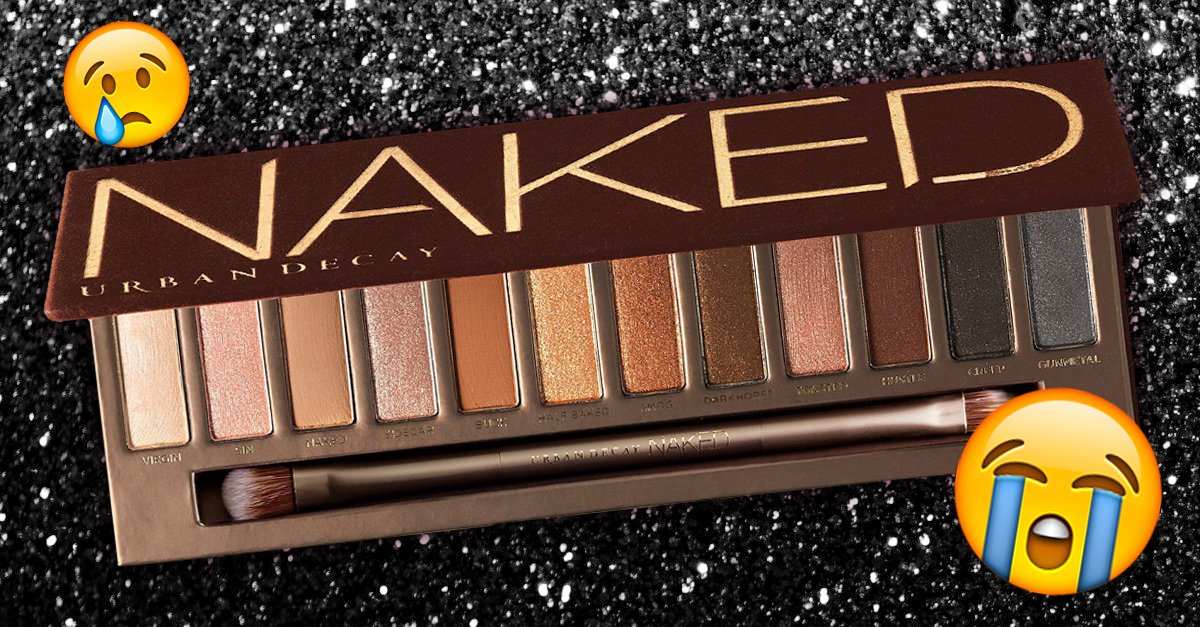 Urban Decay's Naked Palette Will Be Discontinued
