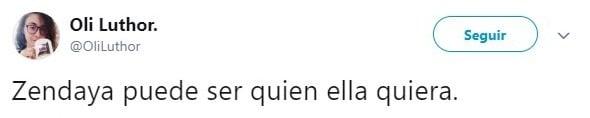 comentario Twitter Zendaya, La Sirenita