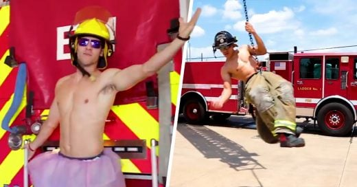 Estos bomberos se unieron al challenge 'Lip sync' y su versión de 'Wrecking Ball' te hará llorar de risa