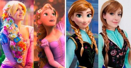 Esta chica es capaz de convertirse en cualquier personaje de película usando un poco de maquillaje
