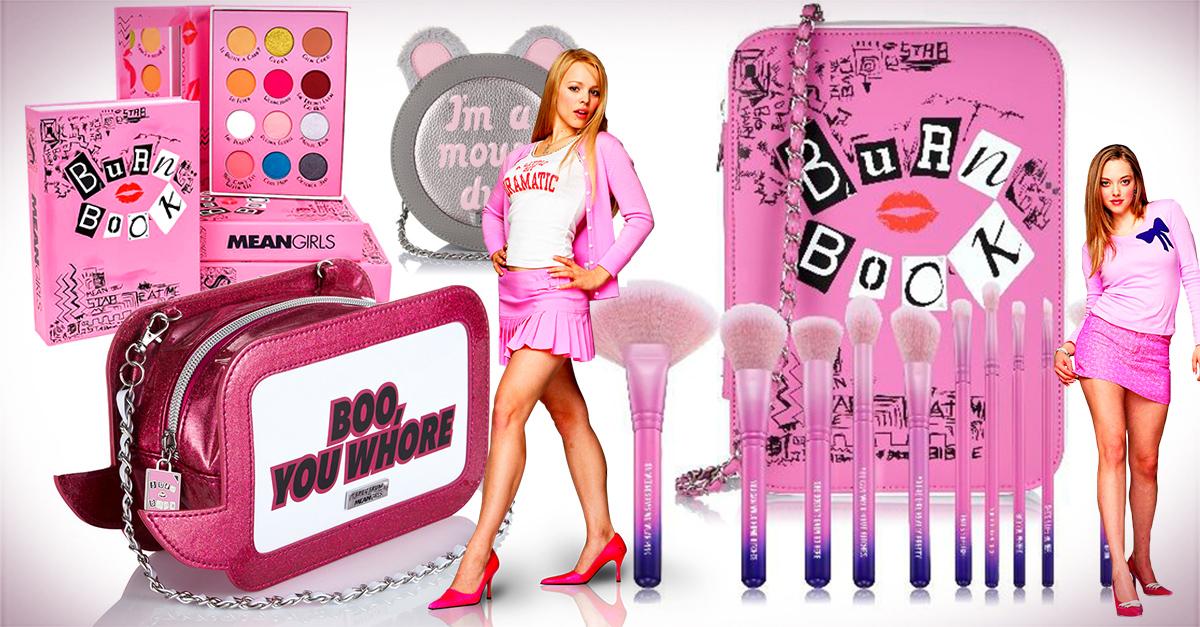Cosméticos y bolsos para fanaticas de mean girls