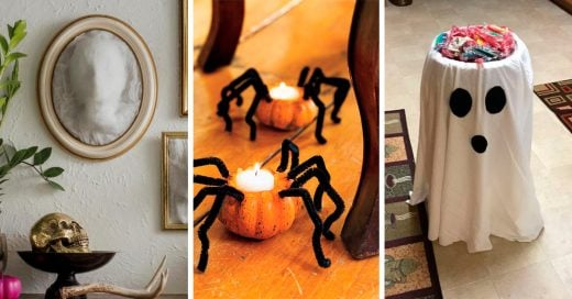 18 Espeluznantes y fáciles ideas para sacar tu espíritu festivo este 'Halloween'