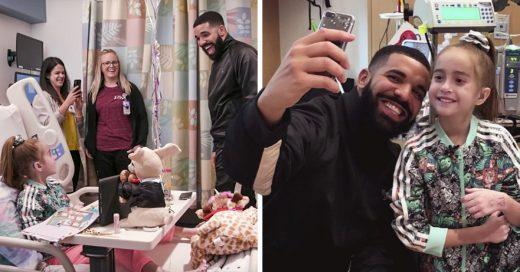 Drake visito a una pequeña fan en el hospital y nuestro corazón se derrite de amor