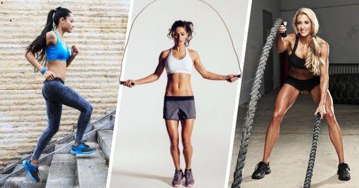 10 Sencillos ejercicios para quemar grasa en solo 20 minutos