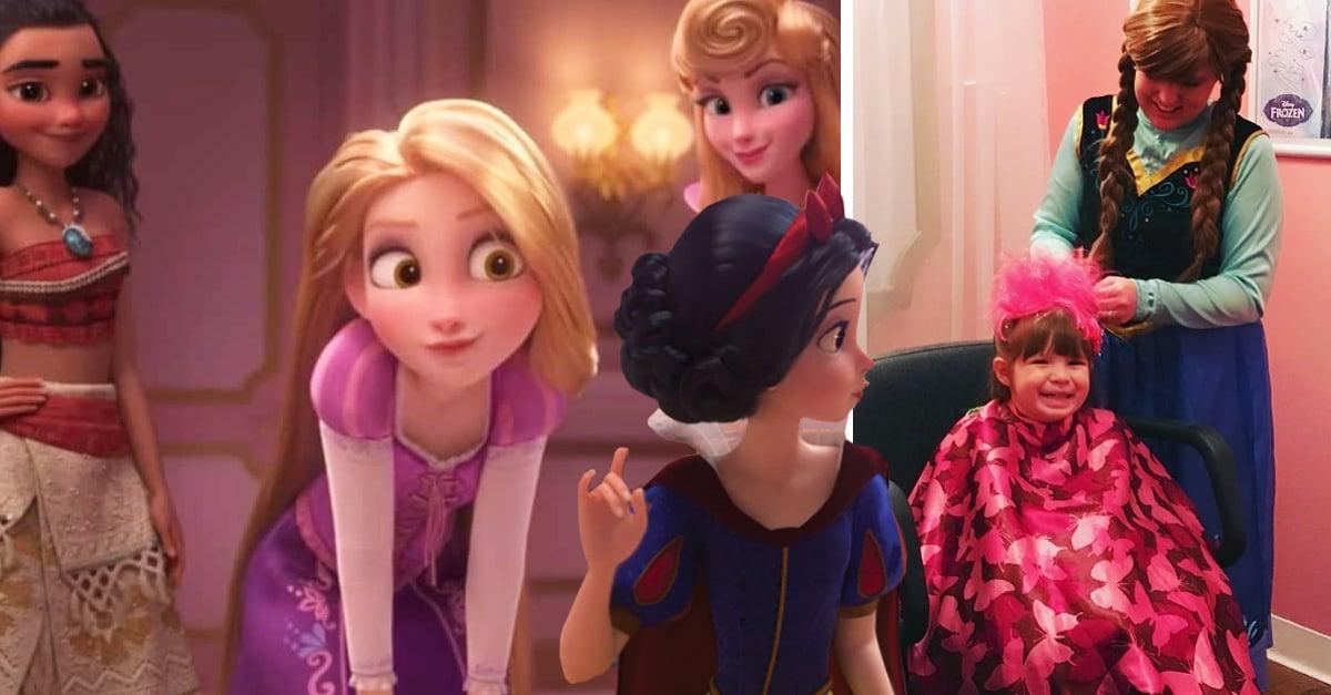 Este salón de belleza se encarga de convertirte en una princesa