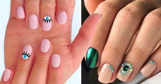 15 diseños de nail arts para uñas cortas