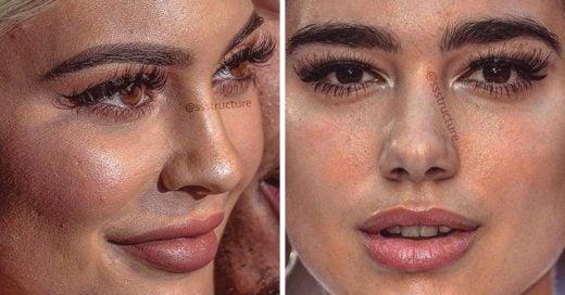 Celebridades sin filtro, los rostros que se esconden detrás del photoshop