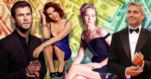 Ellos son los 20 Famosos mejor pagados del 2018; sus sueldos te darán envidia
