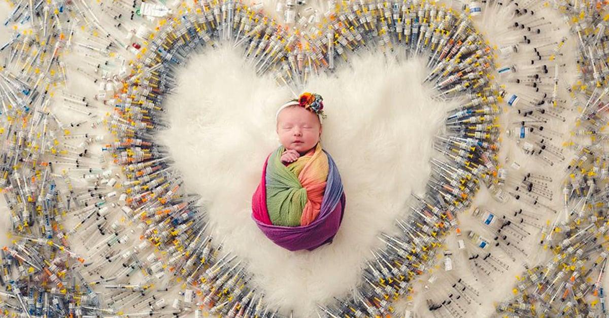 1.616 agujas, 4 años, 7 intentos, 3 abortos y un milagro convertido en bebé arcoíris