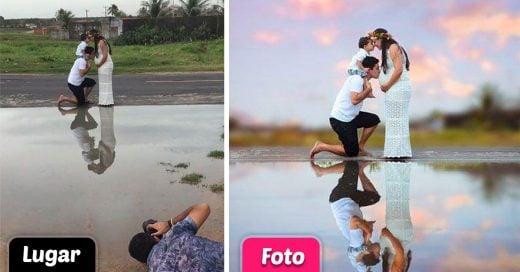 Este fotógrafo volvió a sorprender a Internet al mostrar la magia detrás de su fotografías