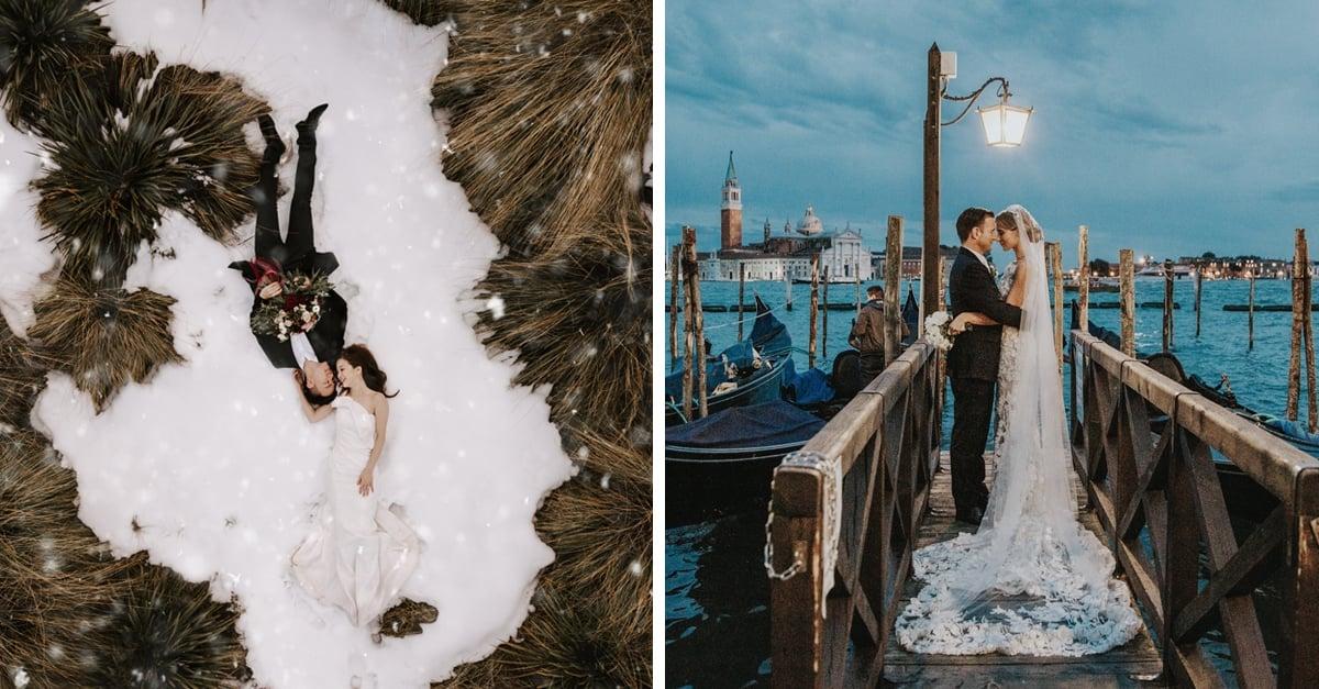 Las mejores fotos de bodas alrededor del mundo fueron presentadas