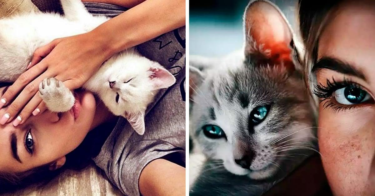 ¡Comprobado! Las mujeres que tienen gatos son más inteligente