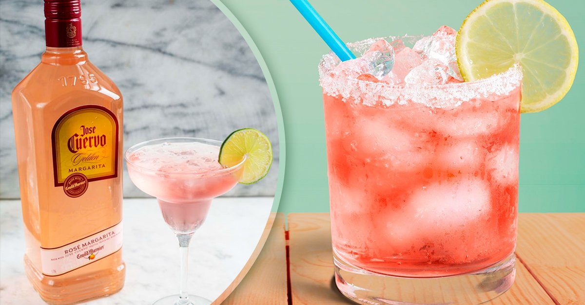 Jose Cuervo's Rose Margarita Combines Your Two Favorite Drinks In One