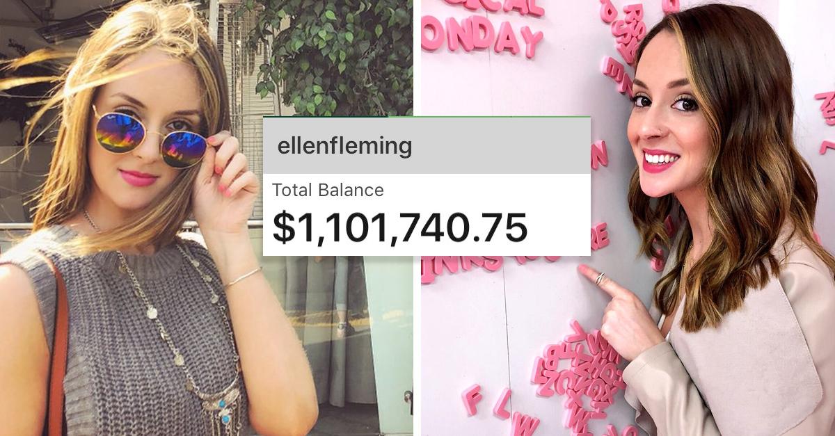 El banco le depositó por error un millón de dólares, ella lo regresó
