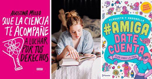 16 libros que no pueden faltar en tu librero para una lectura con todo el toque femenino