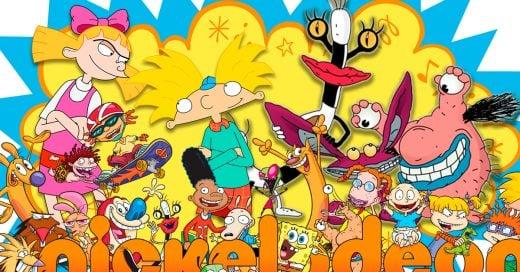 Nickelodeon lanza un nuevo canal para que puedas ver tus series y caricaturas noventeras