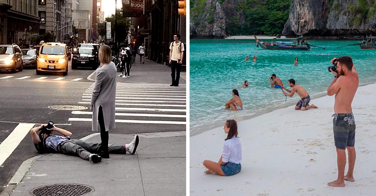 Novios de Instagram, la cuenta que muestra la verdad detrás de las grandiosas fotos de Instagram