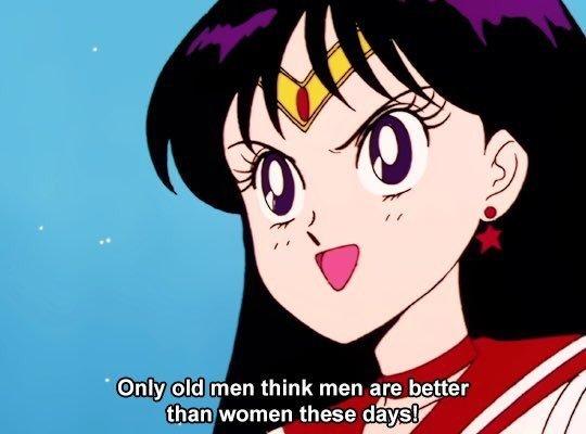 Solo los tipos viejos creen que los hombres son mejores que las mujeres