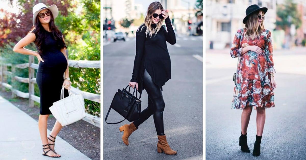 e36b7093ab 15 Outfits para vestir tu pancita de embarazada con mucho estilo