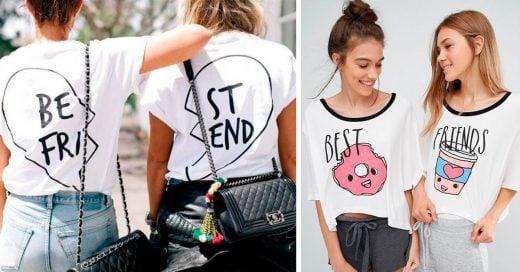 24 Outfits para que tu mejor amiga y tú demuestren que son inseparables