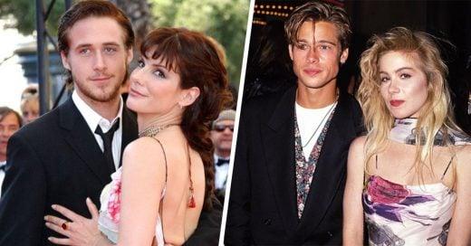 28 fotografías de famosos que no sabías que fueron pareja