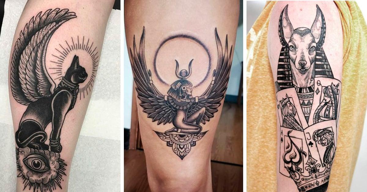 Ideas de tatuajes egipcios que vas a querer tener en tu piel