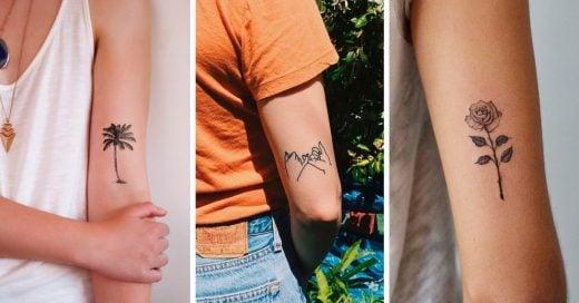 16 Diseños pequeños y lindos para tu primer tatuaje