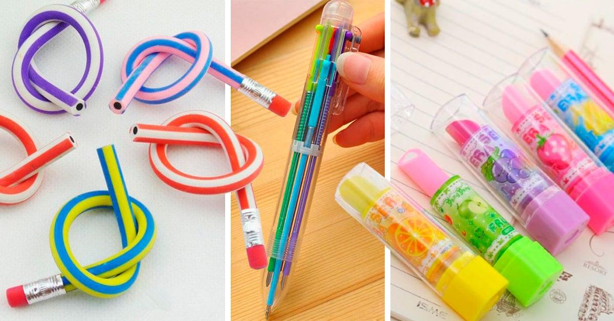 15 Maravillosos útiles escolares que solo las chicas de los 90 llevaron a la escuela