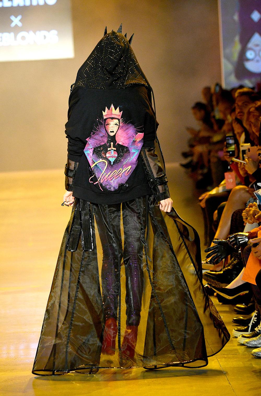 Desfile de moda de villanos de Disney