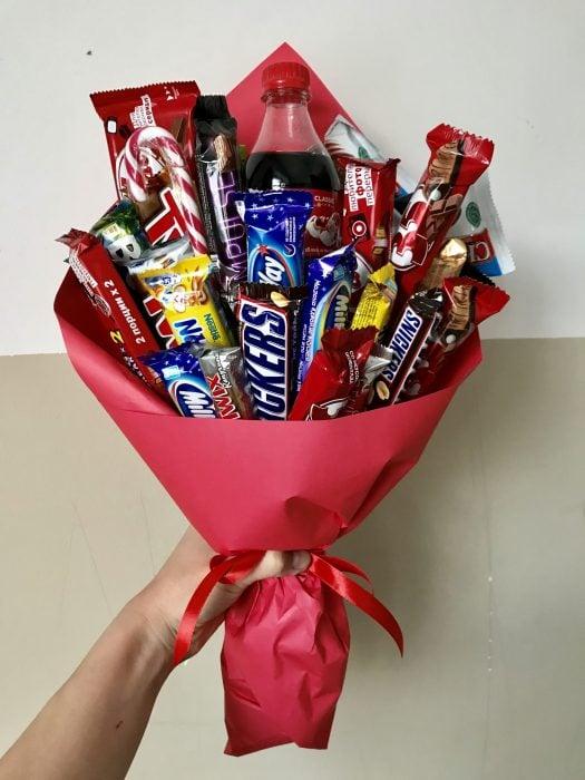 ramo de chocolates